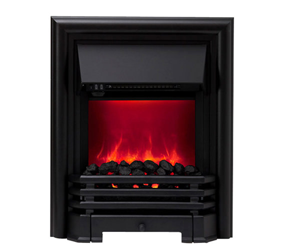 Be Modern Savannah Manual Control LED Inset Electric Fire Black 59374