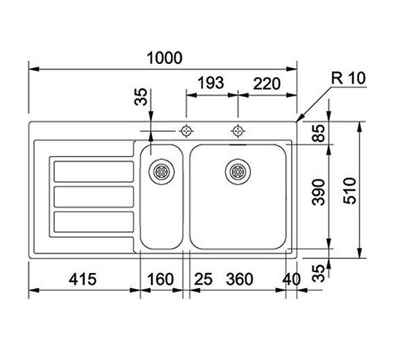 Technical drawing QS-V22305 / 1010150794 BOM