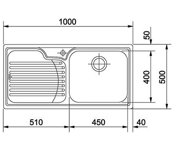 Technical drawing QS-V22311 / 1010022272 BOM