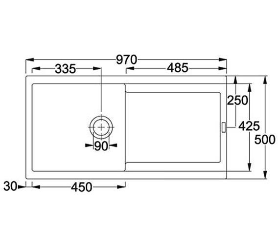 Technical drawing QS-V34185 / 1140157987