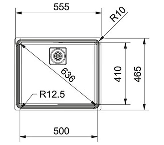 Technical drawing QS-V22330 / 1270273348