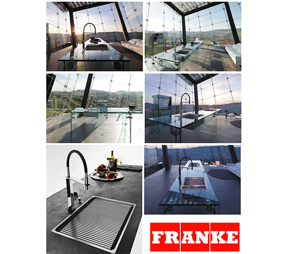 Alternate image of Franke Centinox CEX 210 Stainless Steel 1.0 Bowl Inset Sink And Accessories