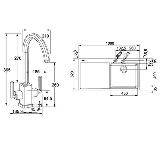 Technical drawing QS-V22333 / 1270364670