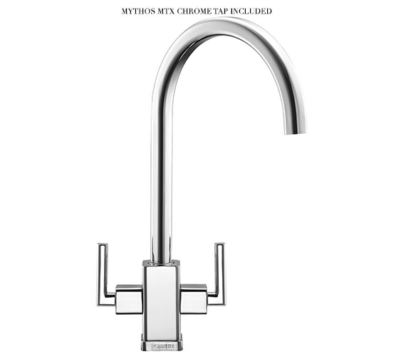 Image 4 of Franke Mythos Slim-Top DP MMX 211 Stainless Steel Kitchen Sink And Tap