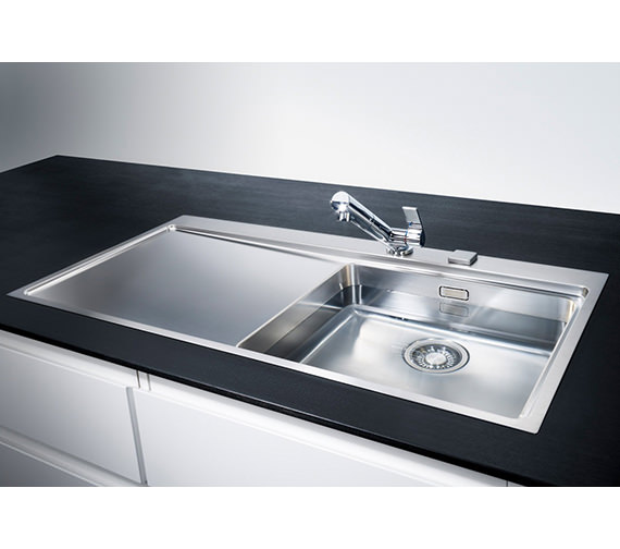 Image 11 of Franke Mythos Slim-Top DP MMX 211 Stainless Steel Kitchen Sink And Tap