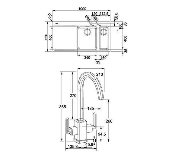 Technical drawing QS-V22337 / 1270364675