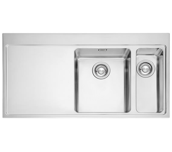 Image 3 of Franke Mythos Slim-Top DP MMX 261 Stainless Steel Kitchen Sink And Tap