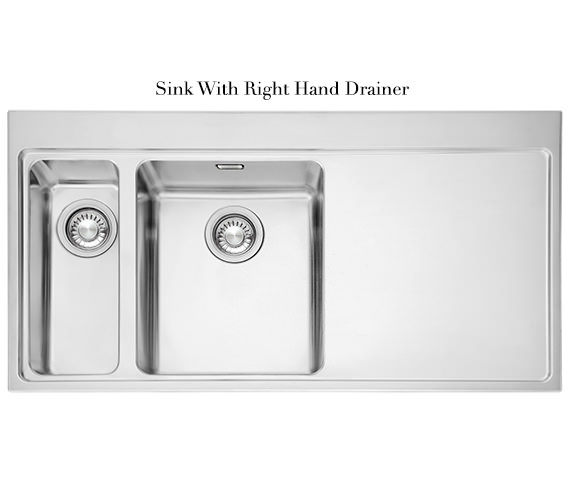 Image 8 of Franke Mythos Slim-Top DP MMX 261 Stainless Steel Kitchen Sink And Tap