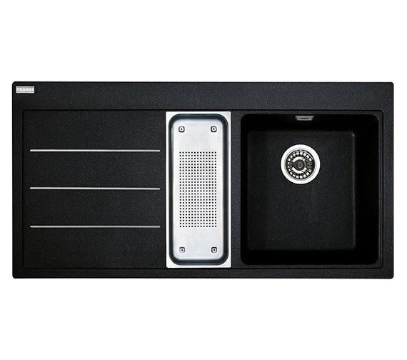 Image 3 of Franke Mythos Fusion Designer Pack MTF 651-100 Fragranite Onyx Sink And Tap