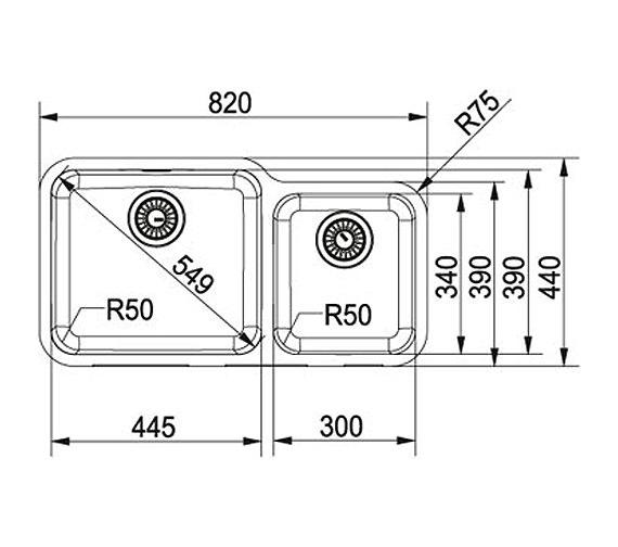 Technical drawing QS-V22356 / 1220156343