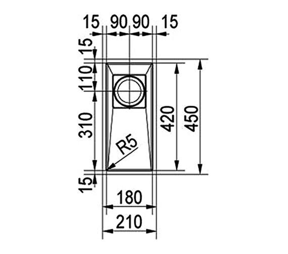 Technical drawing QS-V22360 / 1120155580
