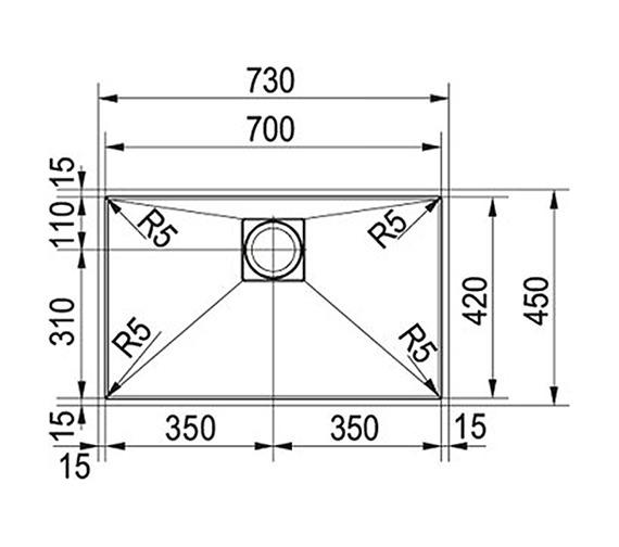 Technical drawing QS-V22364 / 1220155598
