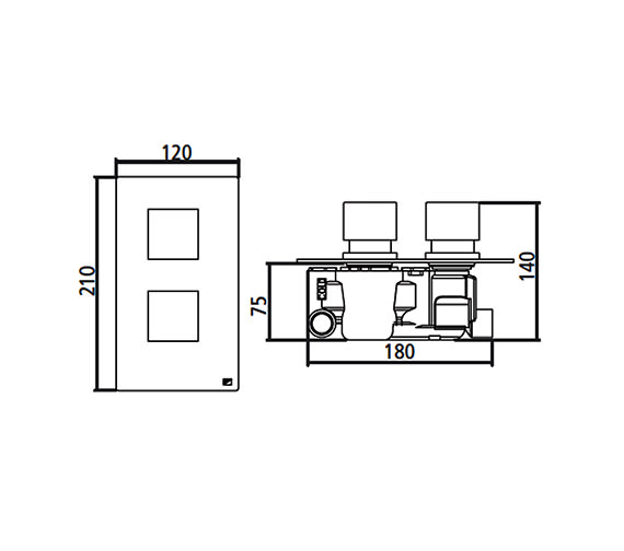 Technical drawing QS-V22391 / SV1304