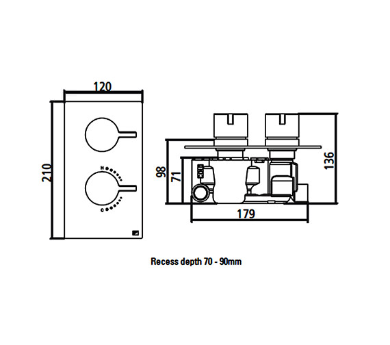 Technical drawing QS-V22395 / SV9904