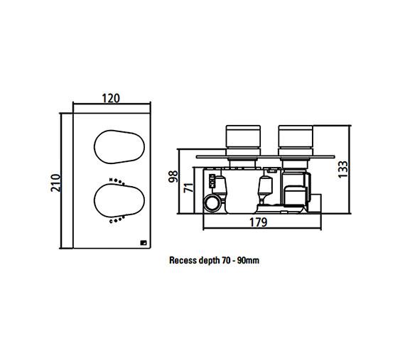 Technical drawing QS-V22399 / SV7704