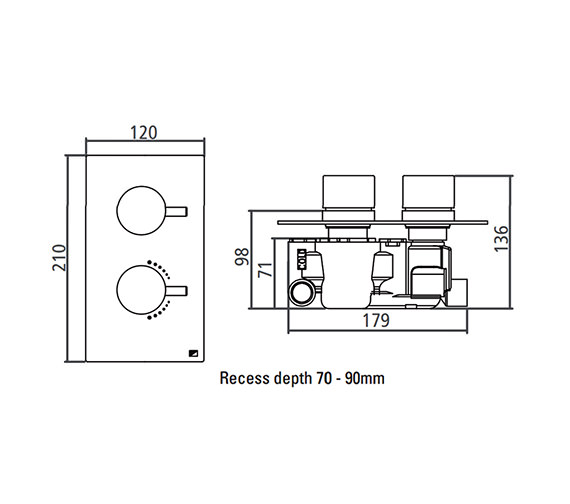 Technical drawing QS-V22407 / SV2204