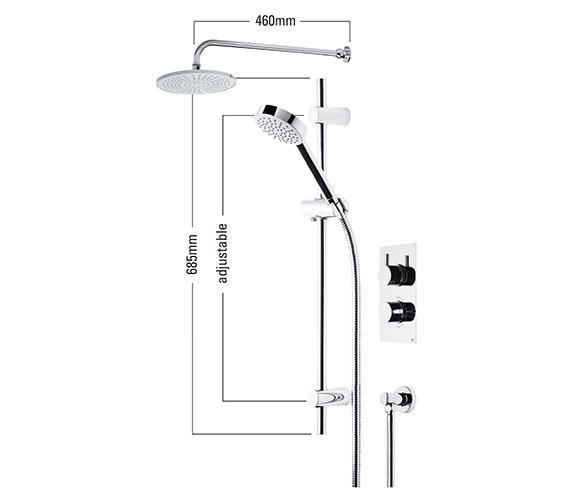 Technical drawing QS-V22422 / SVSET01