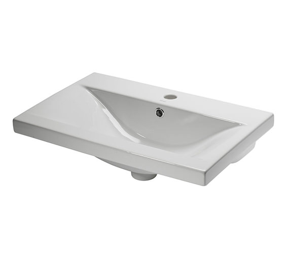 Roper Rhodes 600mm Single Taphole Ceramic Basin - CON600W