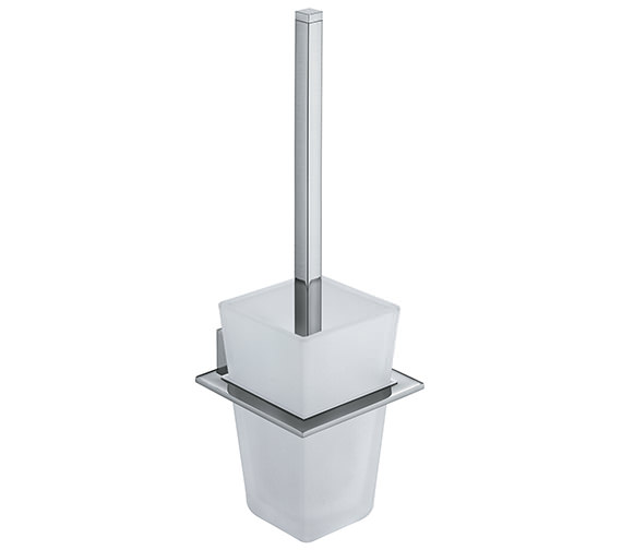 Vado Square Wall Mounted Toilet Brush And Holder - SQU-188