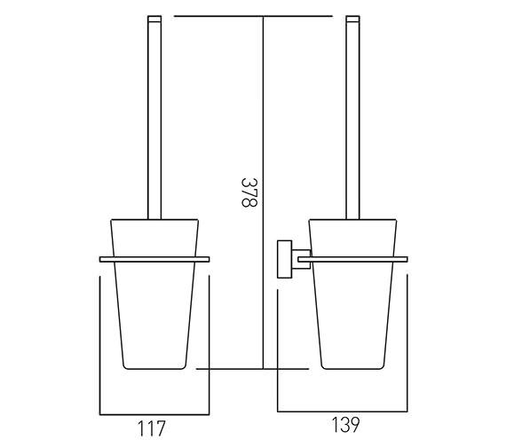 Technical drawing QS-V22452 / SQU-188-C/P