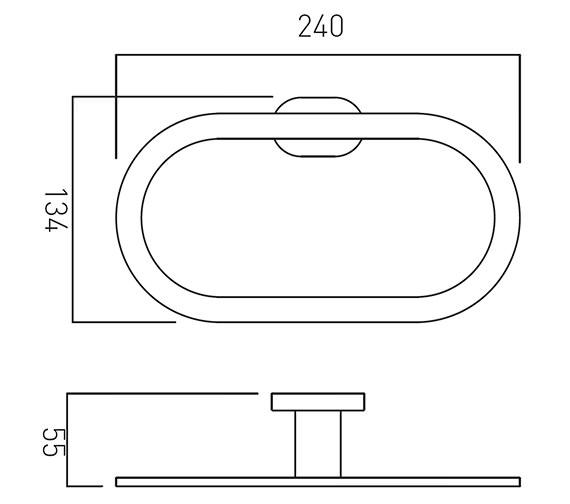 Technical drawing QS-V22454 / LIF-181-C/P