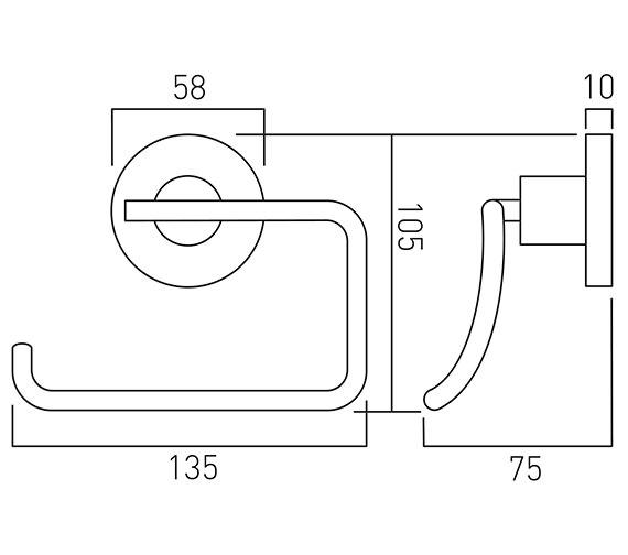 Technical drawing QS-V22463 / ELE-180-C/P