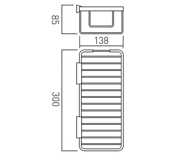 Technical drawing QS-V22491 / BAS-2016L-C/P