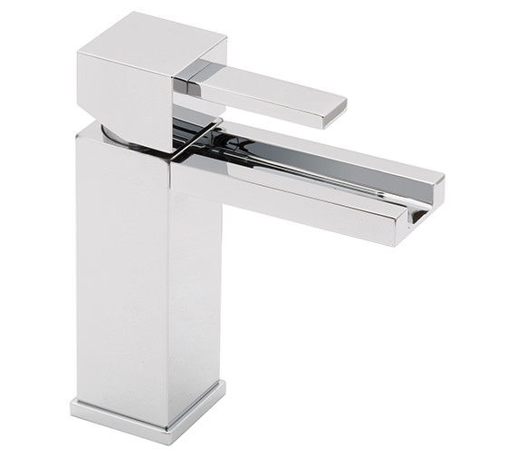Vado Te Falls Mono Basin Mixer Tap With Waterfall Spout - TEF-100-SB