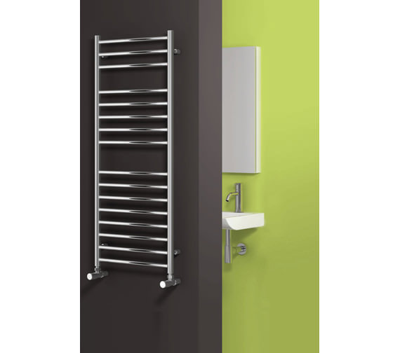 Alternate image of Reina Luna Flat Designer Radiator 600 x 430mm Polished - RNS-LN6043