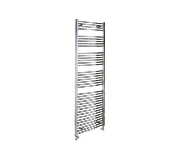 Reina Diva Chrome Flat Towel Rail 600 x 1600mm - DIVA6160
