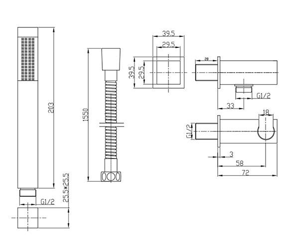 Technical drawing QS-V22697 / SK963C