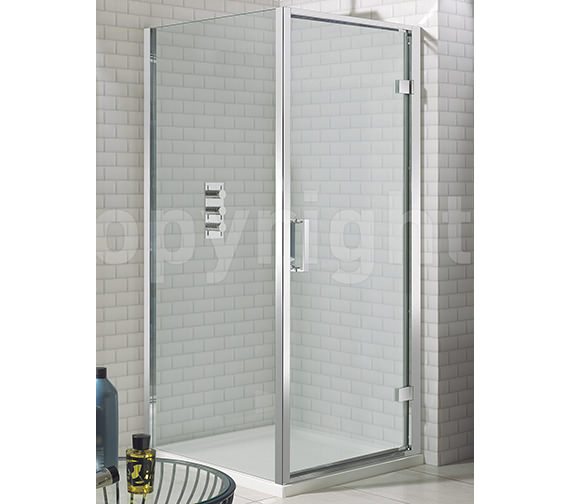 Simpsons Elite Framed Hinged Shower Door 800mm - LHDSC0800