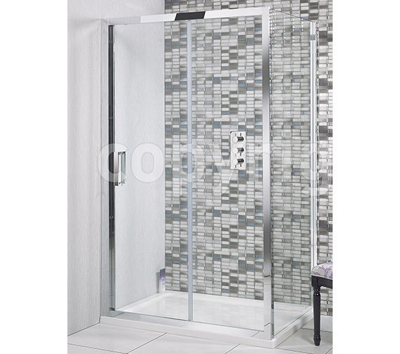 Simpsons Elite Single Shower Sliding Door 1700mm - LSLSC1700