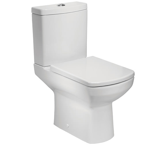 Tavistock Vibe Open Back Close Coupled WC Pan With Cistern And Seat
