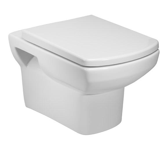 Tavistock Vibe Wall Hung WC Pan And Soft Close Seat