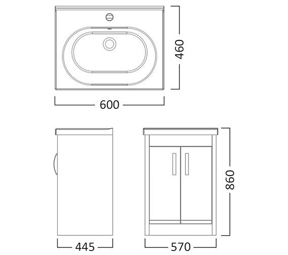 Technical drawing QS-V22789 / IM6FW