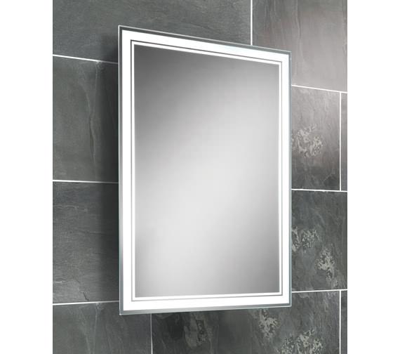 HIB Skye Fluorescent Back-Lit Mirror 500 x 700mm - 77307000