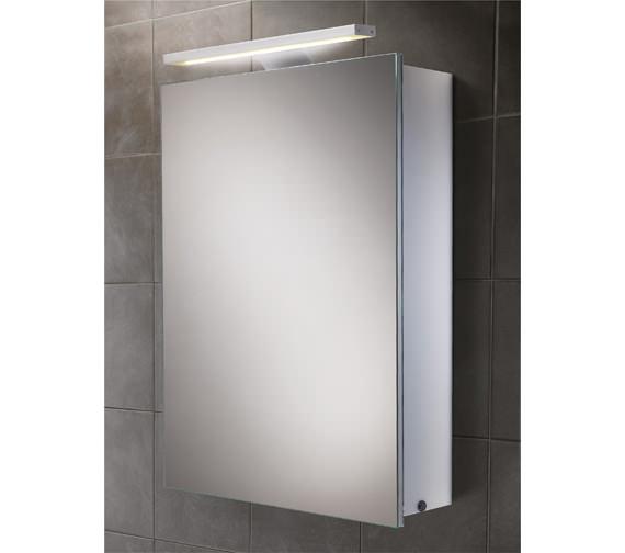 furniture bathroom cabinets mirrored cabinets hib orbital steam free