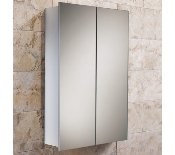 HIB Jupiter Double Door Aluminium Cabinet 450 x 700mm - 43600