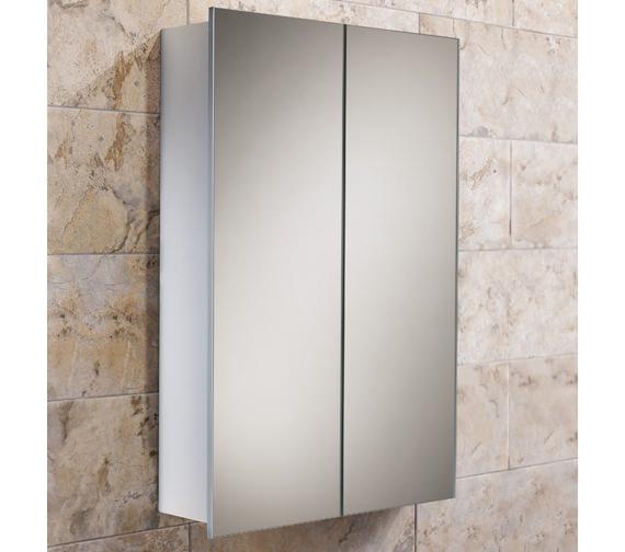HIB Jupiter Double Door Aluminium Cabinet 450 x 700mm - 43600