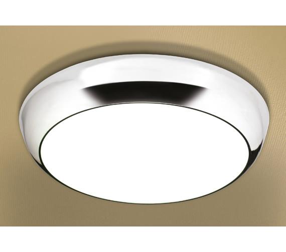 HIB Kinetic LED Illuminated Circular Ceiling Light - 0670