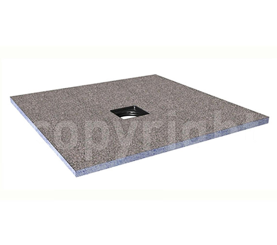 Simpsons Wetroom Level Access Shower Tray - Centre Waste