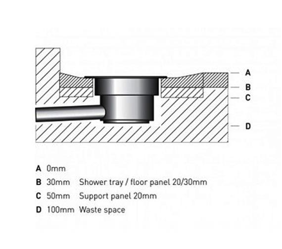 Technical drawing QS-V22936 /  WRST12X9LCE