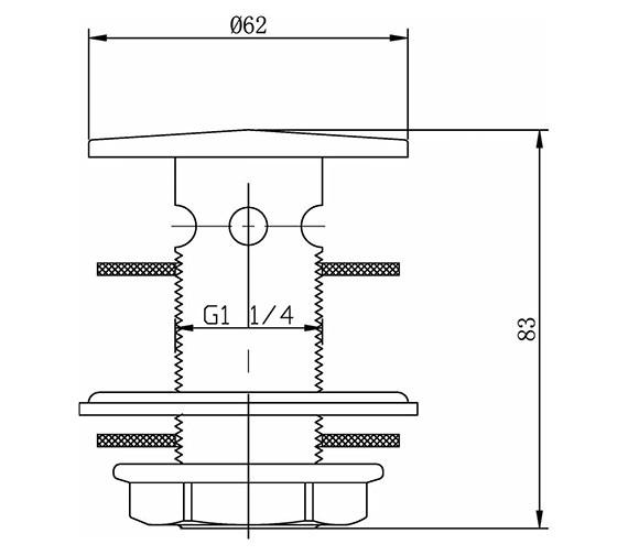 Technical drawing QS-V23187 / ER02