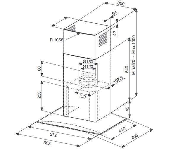 Technical drawing QS-V23292 / 1100152529