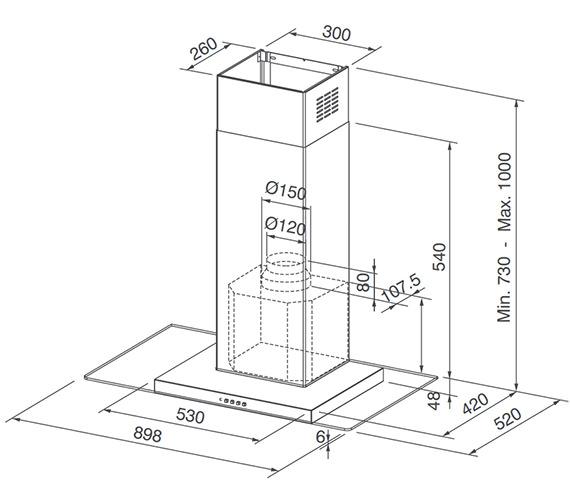 Technical drawing QS-V23297 / 1100152538
