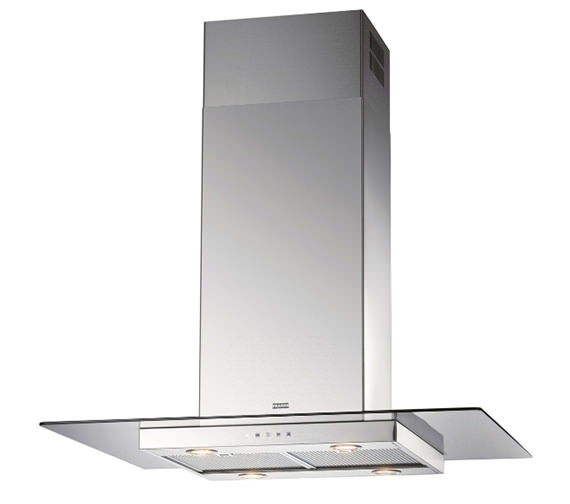 Franke Glass Linear FGL 915 I XS Stainless Steel Island Kitchen Hood