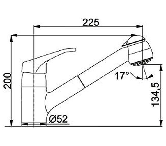 Technical drawing QS-V23320 / 1150155644
