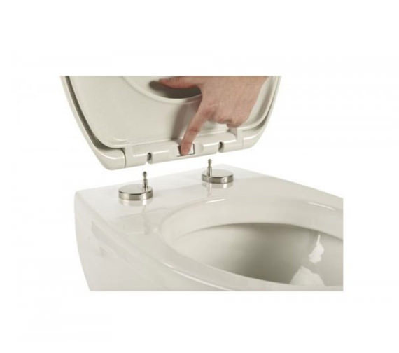Additional image of Roper Rhodes Mercury Soft Closing Toilet Seat White - 8701WSC