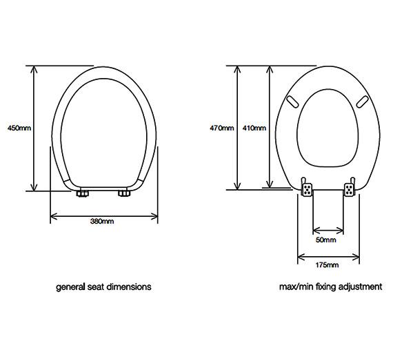 Technical drawing QS-V23373 / 8703WSC
